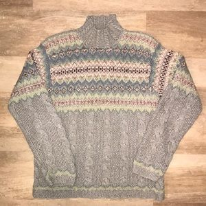 Vintage Cable Knit Jones New York Sweater
